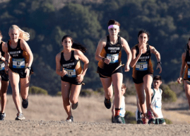 Cross country races league finals, girls and boys varsity advance to CCS