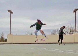 Aubrey Jee skates through stereotypes