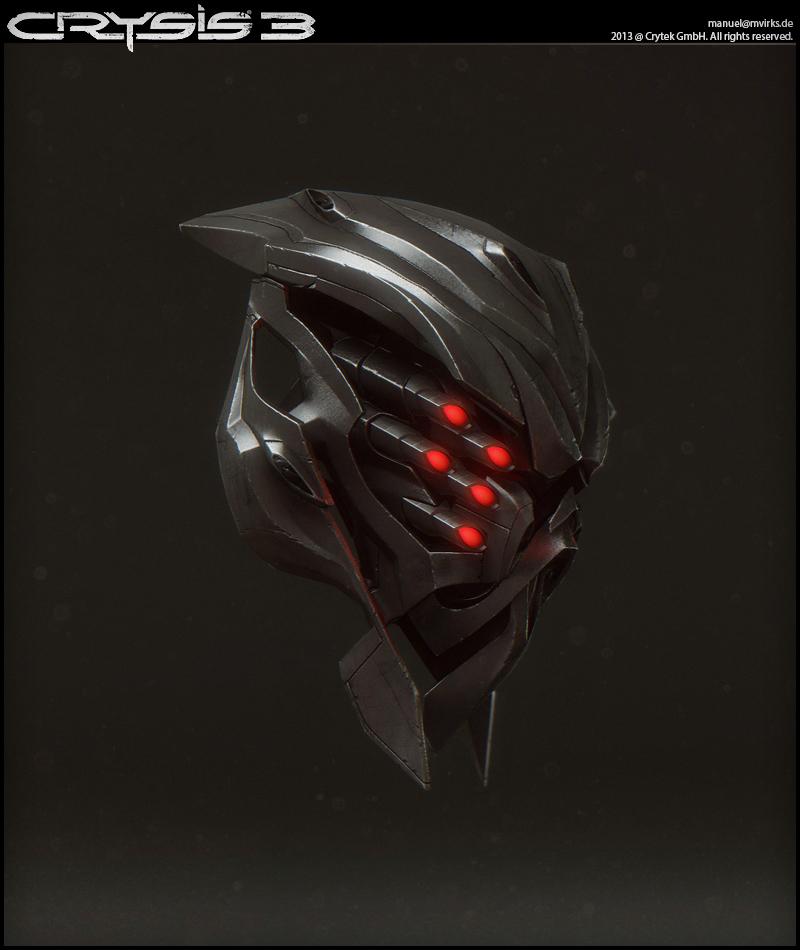 Character  Crysis 3  Nanosuit MP  Alien Helmet  Manuel
