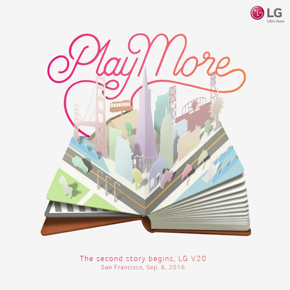 El LG V20 verá la luz el 6 de septiembre