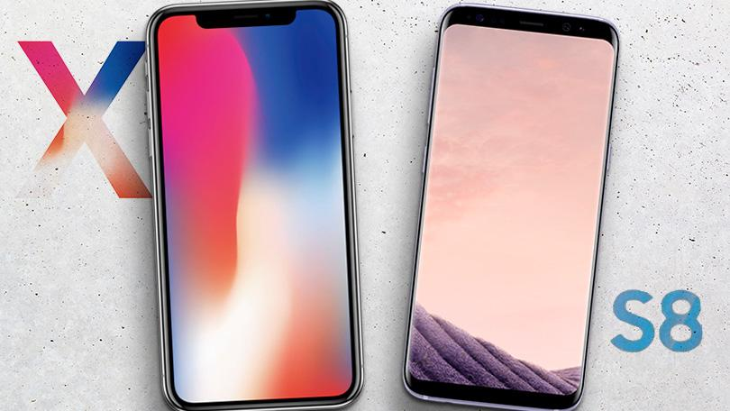 iPhone X vs Galaxy S8: ¿Cuál es mejor?