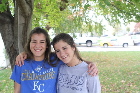 Finding support in each other, juniors Alyssa and Sam Noel adapt to moving and switching schools often