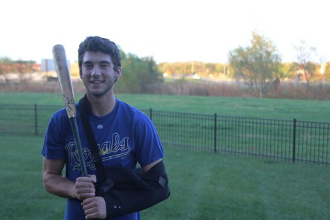 Senior Luke Sosaya overcomes labrum surgery