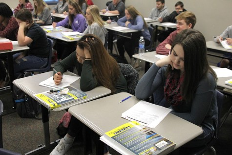 Students and teachers evaluate the ACT and SAT tests