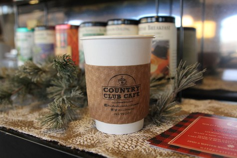 Independently-owned cafe makes for a common meeting place