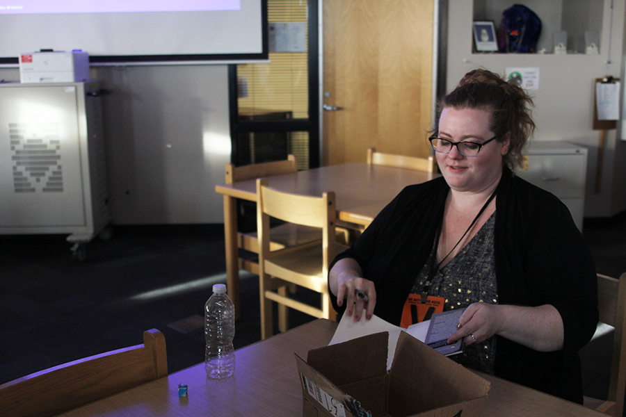 New York Times bestselling author visits students