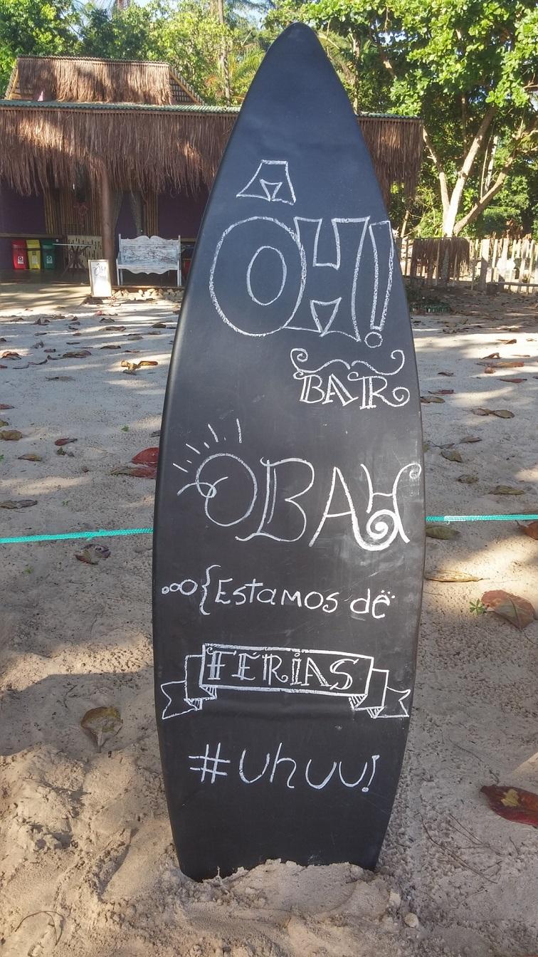 Férias? E nós? - Península de Maraú - BA, by Luciana de Paula, 2016