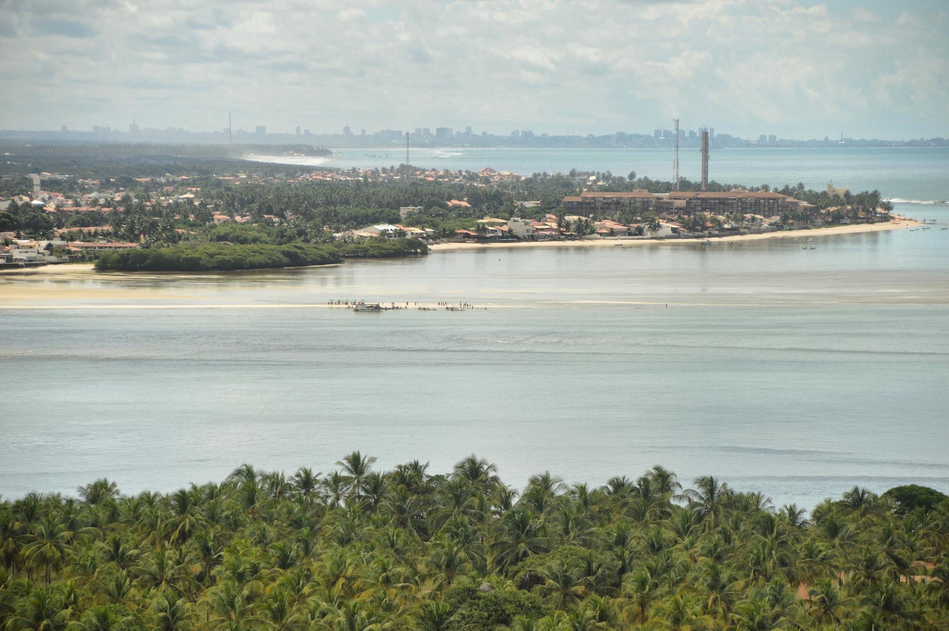 Vista do Mirante do Gunga, Barra de São Miguel - AL, by Luciana de Paula, 2016