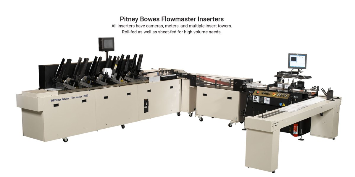 direct mail advertising inserter by Pitney Bowes in Orange County, CA