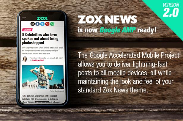 Zox News - Professional WordPress News & Magazine Theme - 1