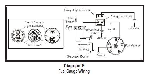Vdo Marine Tachometer Wiring Diagram Sel VDO Electronic