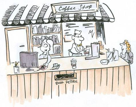 Library renovations to include a coffee shop