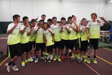 Boys tennis takes State