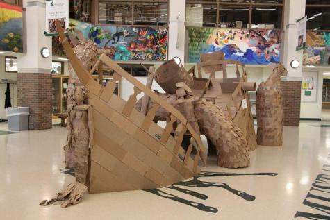 Bonds in a wreck – 3D Art