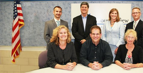School board re-elects experienced candidates