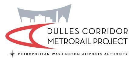 Dulles Corridor Metrorail Metropolitan Washington