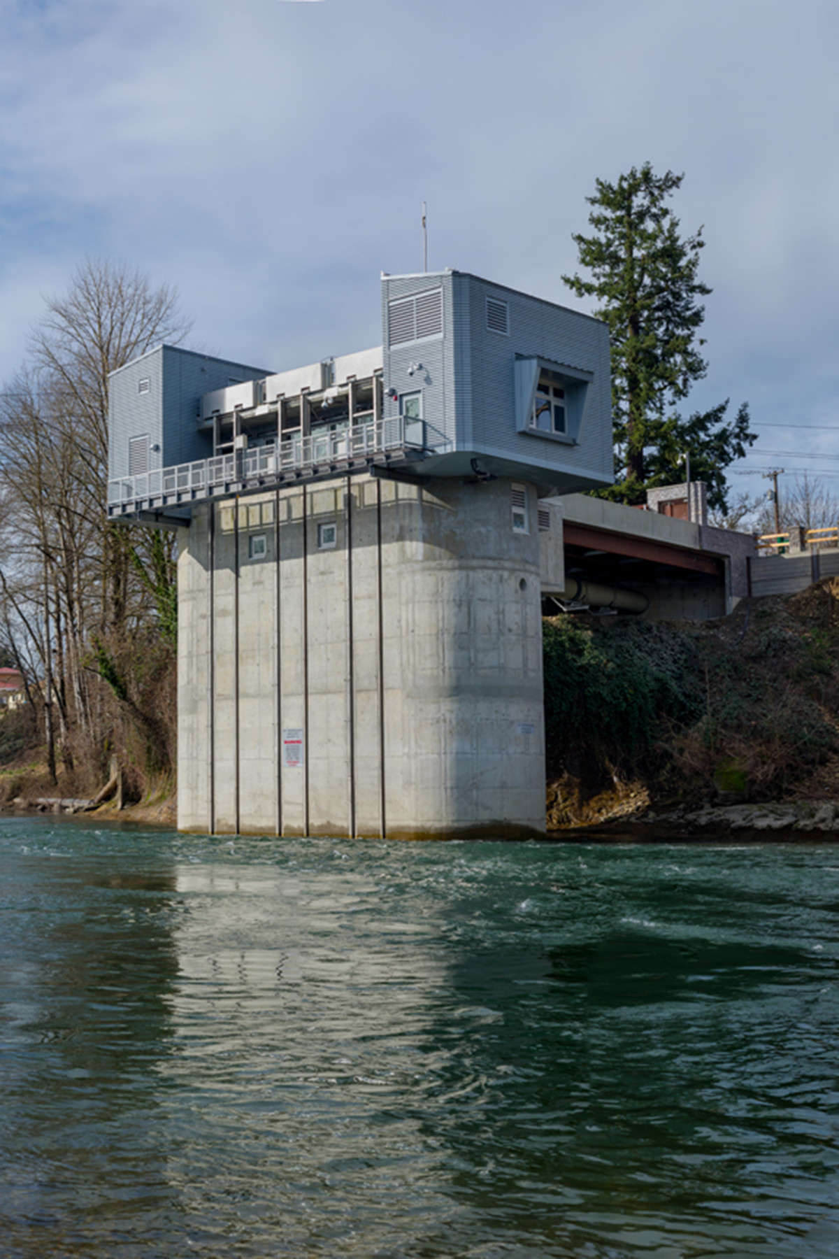 Lake Oswego River Intake Pump Station MWA Architects