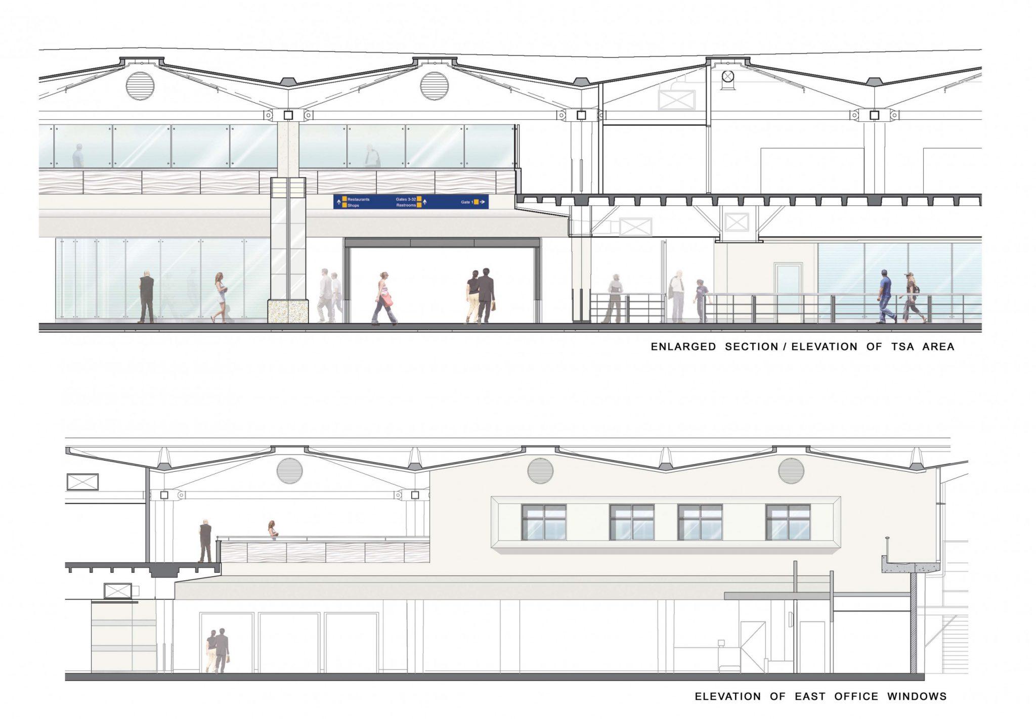 Oak Terminal One Expansion Amp Rehabilitation