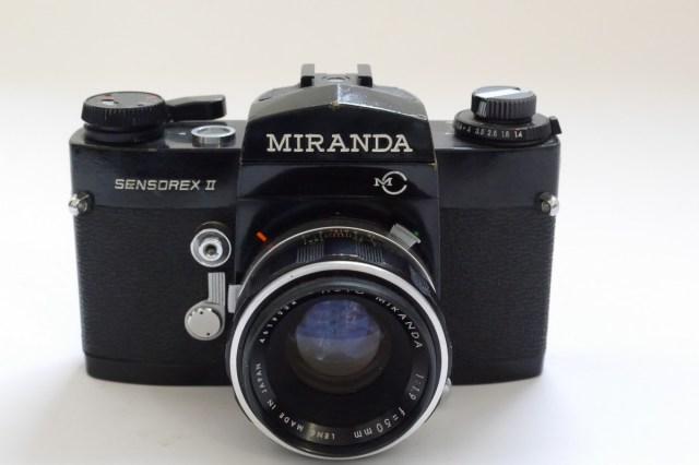 Miranda Sensorex II 35mm SLR, BLACK + 50mm f1.9 bayonet ...