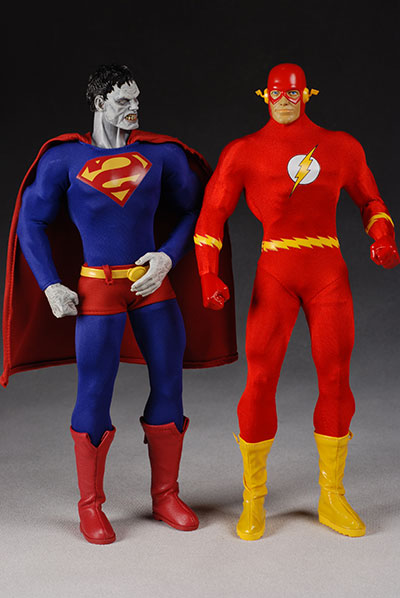 Deluxe Bizarro action figure  Another Pop Culture Collectible Review by Michael Crawford