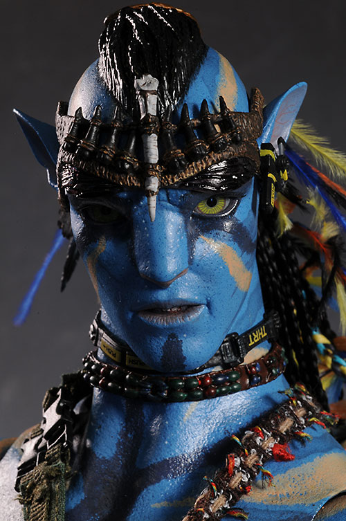 Review and photos of Jake Sully Avatar 16th action figure by Hot Toys