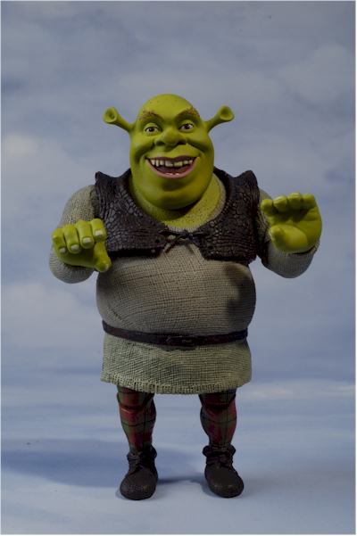 Shrek the Ogre action figure  Another Pop Culture Collectible Review by Michael Crawford