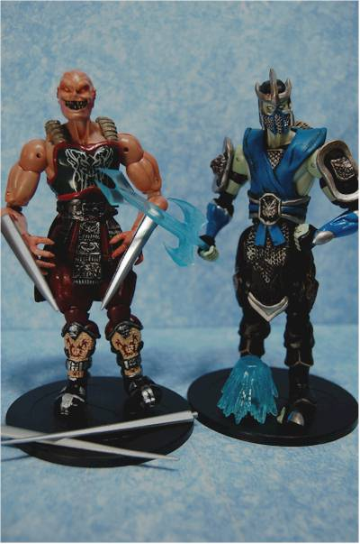 Mortal Kombat action figures  Another Toy Review by