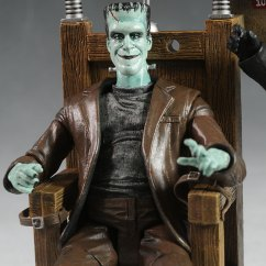 Chair For Bad Back Wicker Garden Armchair Uk Munsters Action Figure - Another Pop Culture Collectible Review By Michael Crawford, Captain Toy