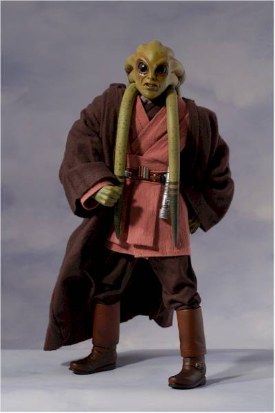 Star Wars Kit Fisto action figure  Another Toy Review by Michael Crawford Captain Toy