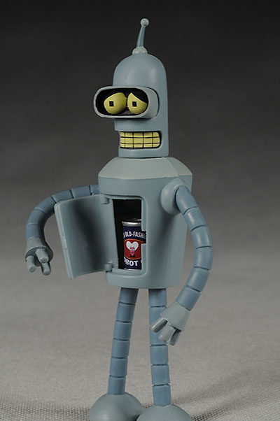 Futurama Bender and Robot Devil action figures  Another