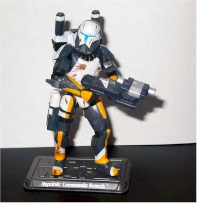 Commander Cody Scorch Utapau Trooper Action Figures