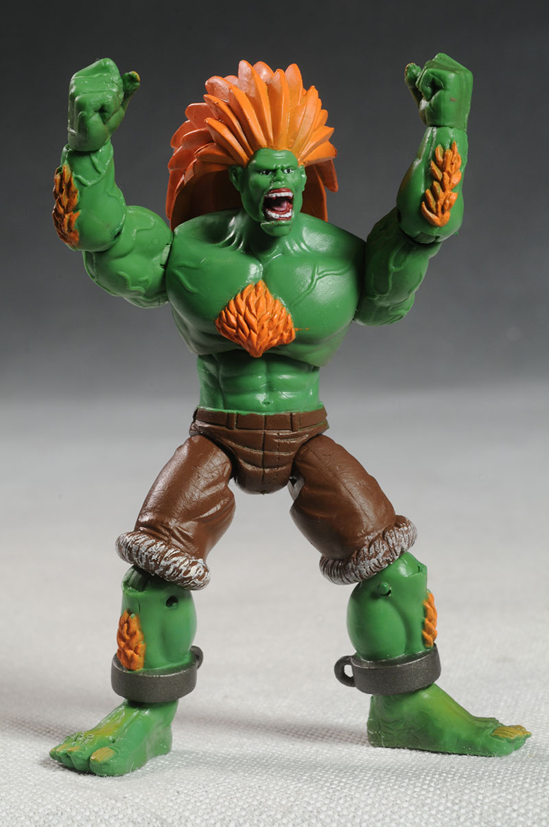 Review And Photos Of Street Fighter Ken Vs Blanka Action Figures By Jazwares