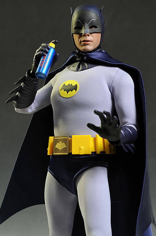 Review and photos of Hot Toys 1966 Batman action figure