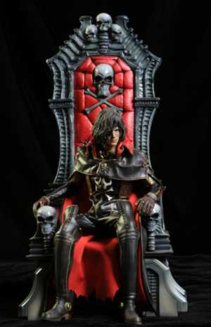 Review and photos of Hot Toys Captain Harlock action figure