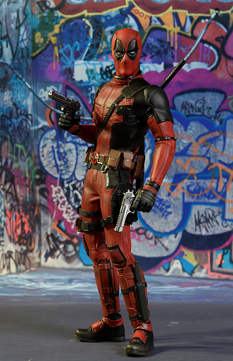 Deadpool sixth scale action figure by Hot Toys