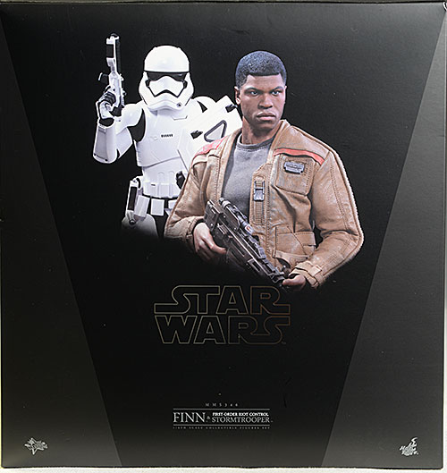 Star Wars Finn, Riot Control Stormtrooper 1/6th action figures by Hot Toys