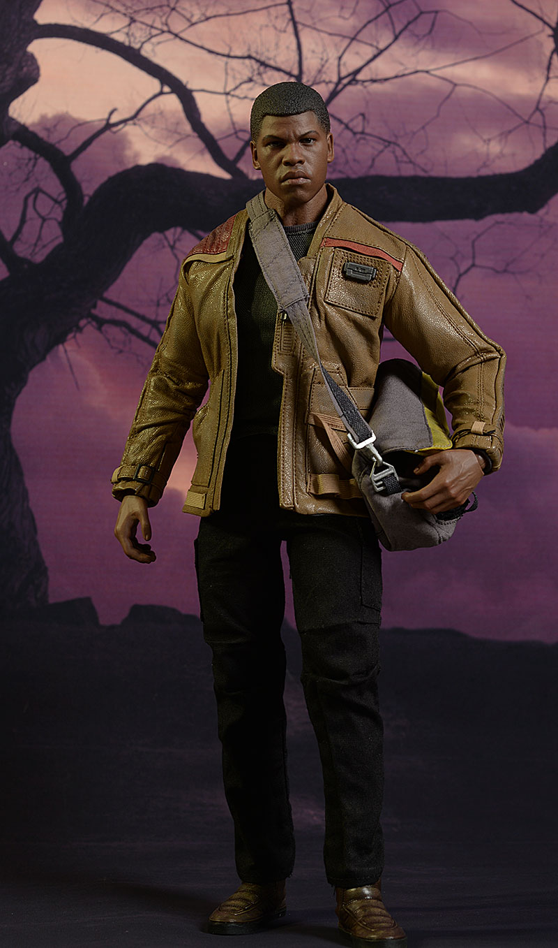 Star Wars Finn 1/6th action figure by Hot Toys