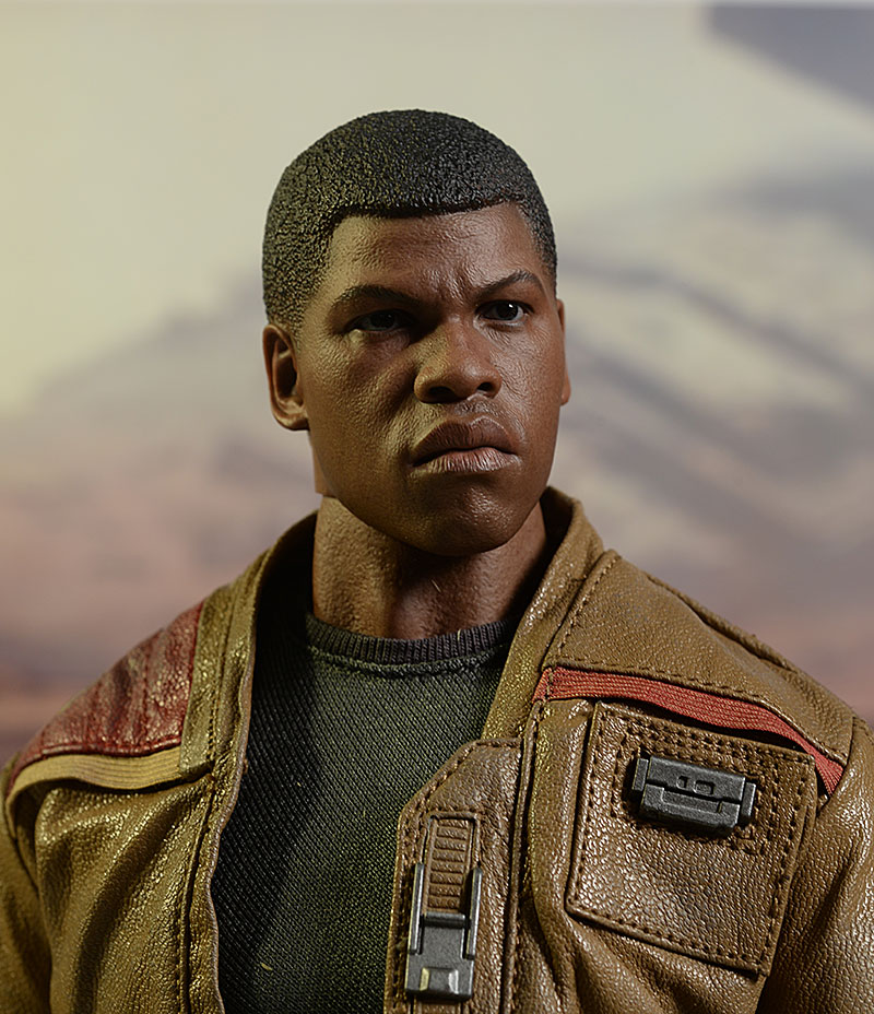 Star Wars Finn 1/6th action figures by Hot Toys