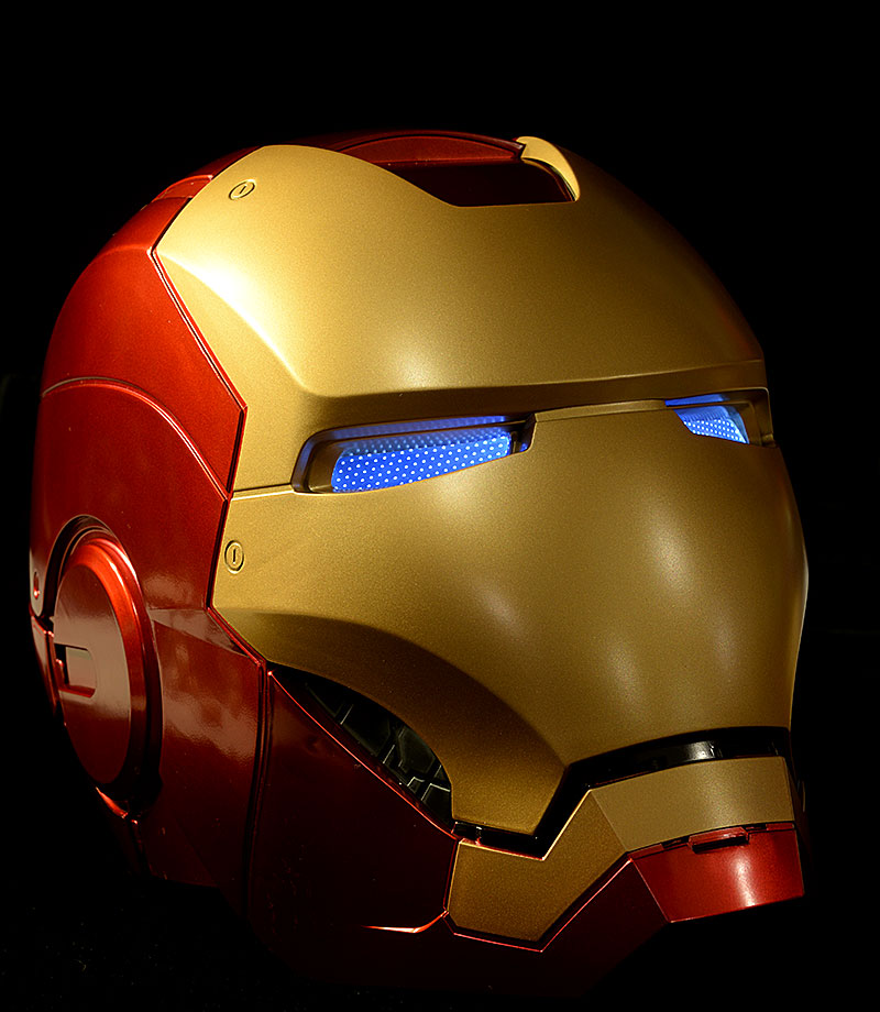 Marvel Legends Iron Man Helmet prop replica by Hasbro