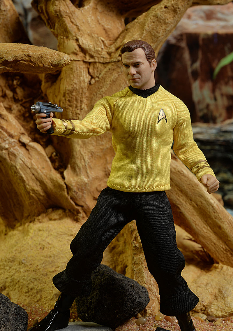 Captain Kirk Star Trek One:12 Collective action figure by Mezco