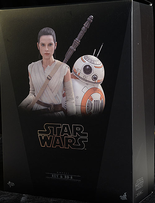 Rey, BB-8 Star Wars sixth scale figures by Hot Toys