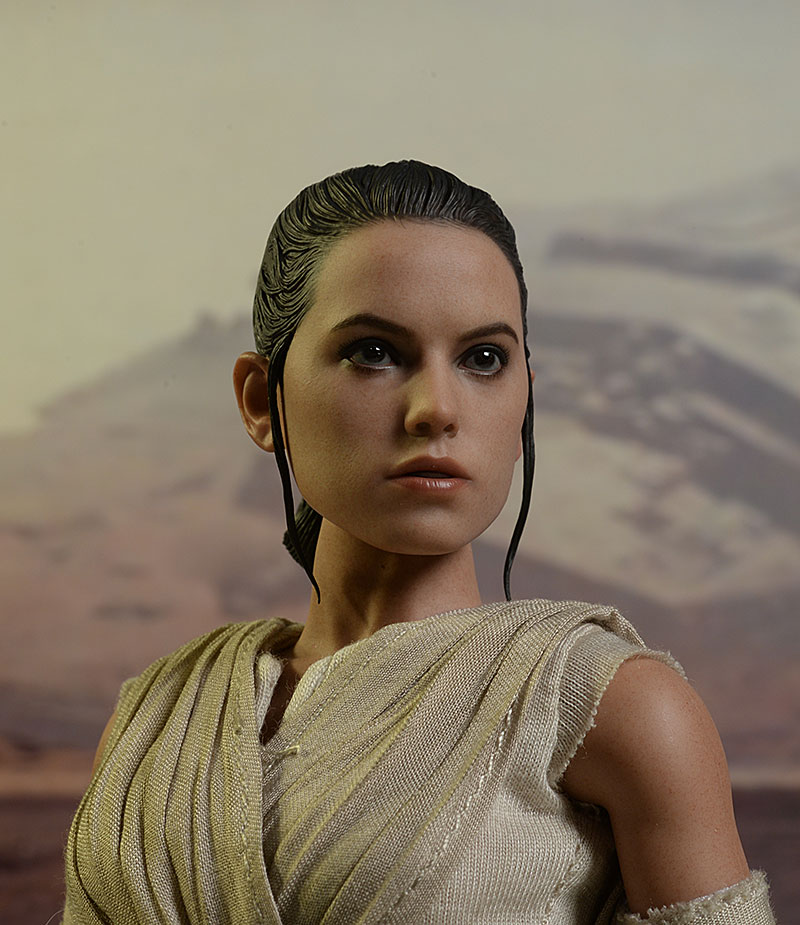 Rey Star Wars Force Awakens sixth scale figures by Hot Toys