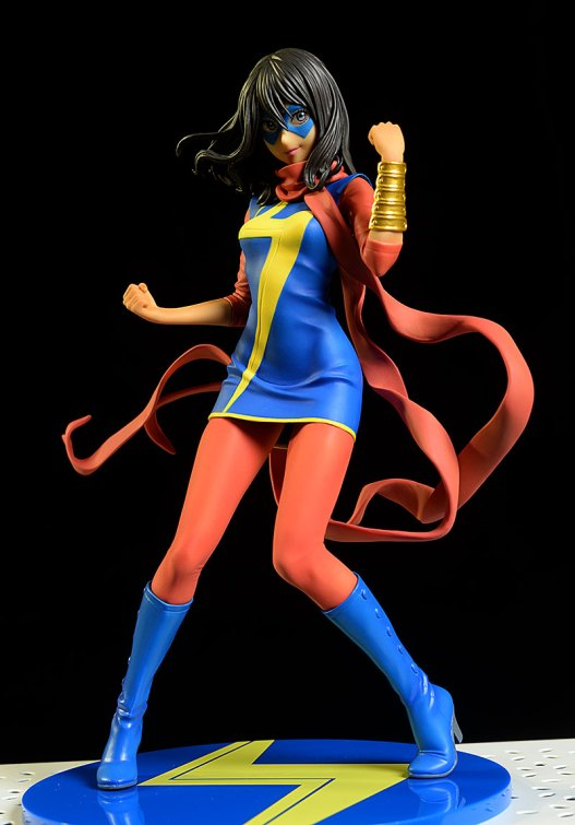 Ms. Marvel Kamala Khan Bishoujo statue by Kotobukiya