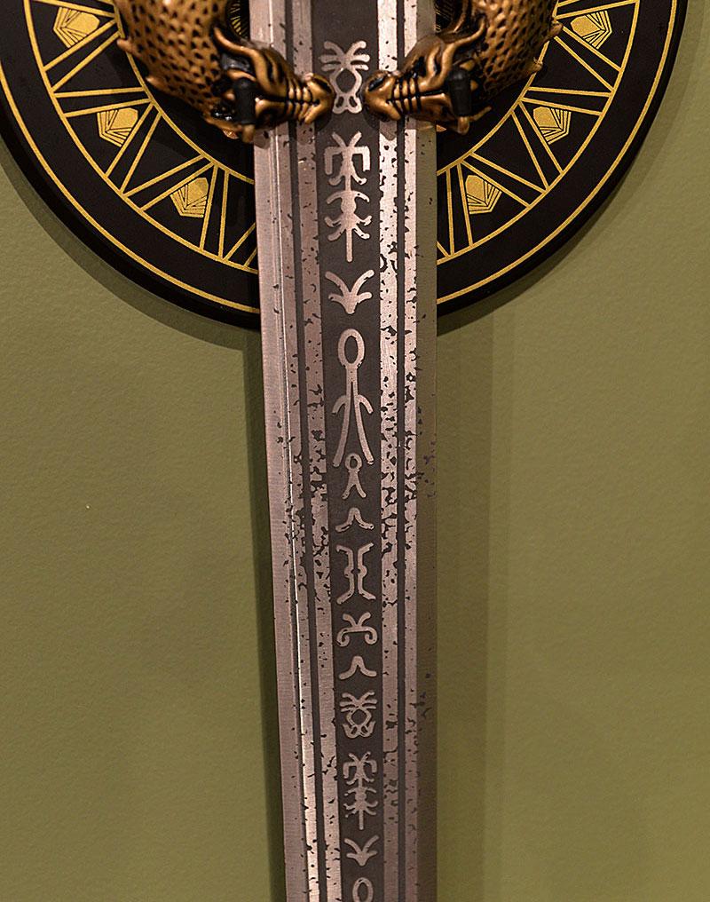 God Killer Wonder Woman sword prop replica by Factory Entertainment