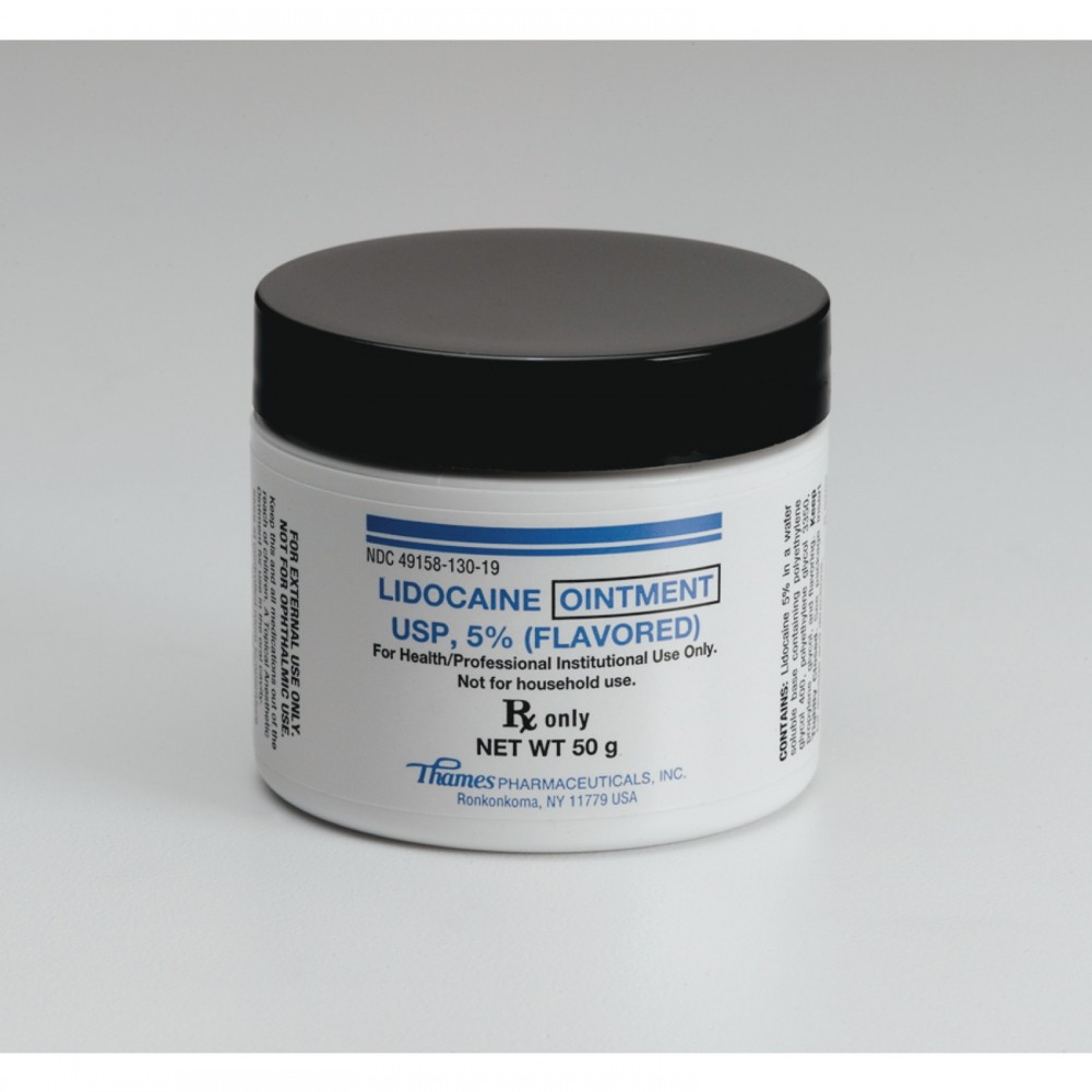 Lidocaine Topical Ointment - 5 percent - 50g - Anesthetics ...