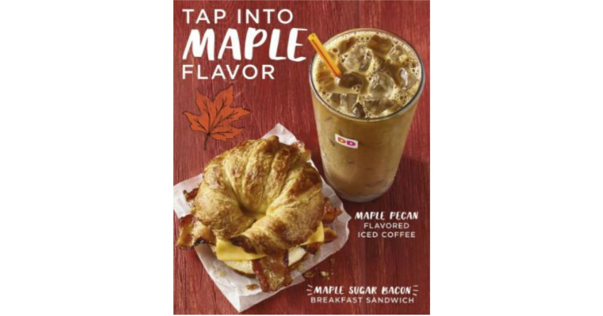 FREE Medium Maple Pecan Coffee & Maple Sugar Bacon Breakfast ...