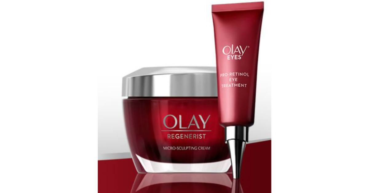 Possible Free Olay Regenerist Micro Sculpting Cream Olay Eyes