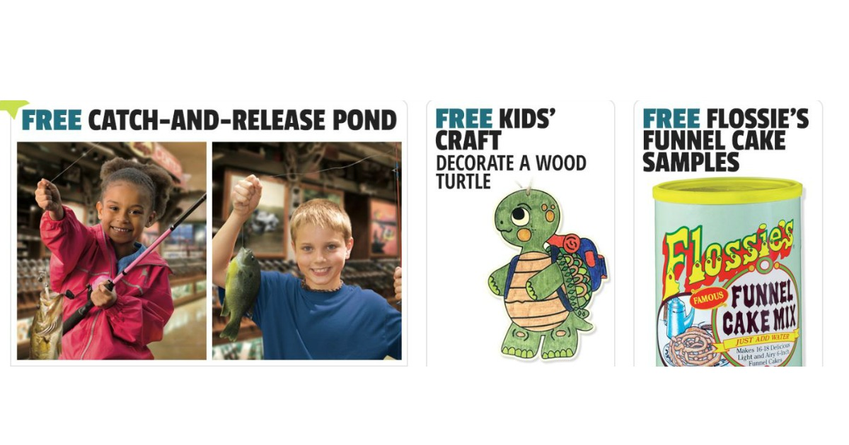 Free Funnel Cake Samples Kids Craft Catch Release Pond More