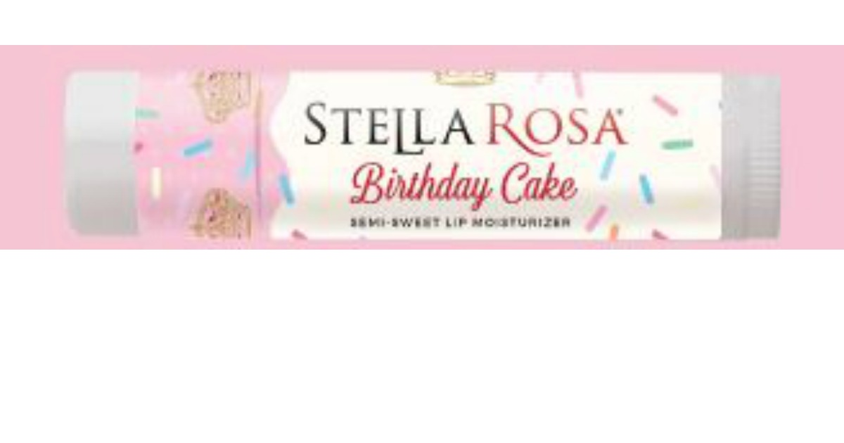 FREE Stella Rosa Birthday Cake Lip Balm 10000 Additional Are Being Given Away At Random
