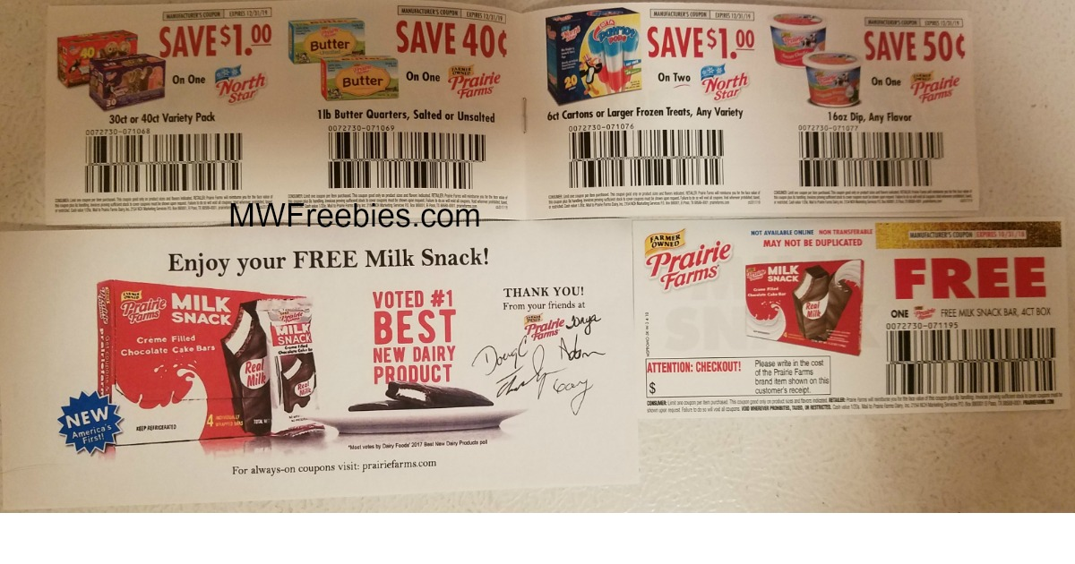 I Received A Coupon For A Free 4 Pack Of Milk Snack Bars A Coupon Book In The Mail Today What Did You Get Mwfreebies
